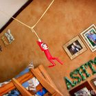 Elfie plays with toilet paper - Ideas for your Elf on the Shelf