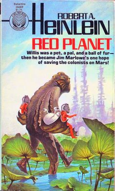 Robert A. Heinlein - red planet