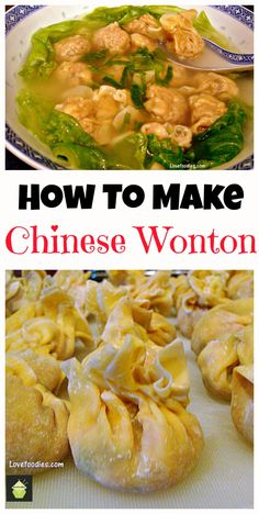 Make your very own Chinese Wonton Soup, better than the restaurants for sure!