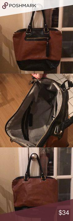 353541095775 Steve Madden tote   shoulder bag Super cute   versatile brown   black tote  or shoulder