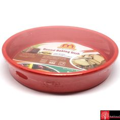 Red Forest Baking Dish Round