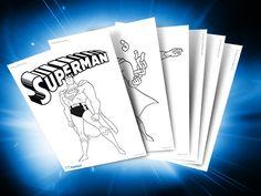 Themed Printables: Superman | DC Comics