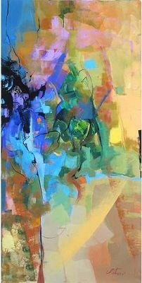 Irene Sheri-Cool Release. Original Paintings (Acrylic, Canvas)