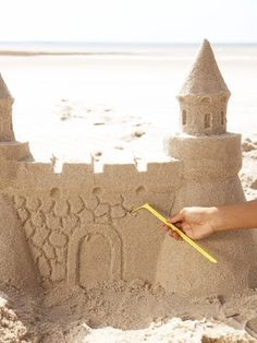 how to make pro sand castles