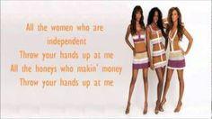 Destiny's Child - Independent Women w/ Lyrics - YouTube