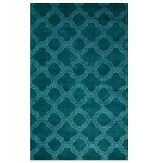 Home Decorators Collection Morocco Teal 5 ft. 3 in. x 8 ft. 3 in. Area Rug-0481620330 at The Home Depot