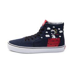 Vans Sk8 Hi Peanuts Flying Ace Skate Shoe