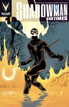 Shadowman: End Times #1 - Giuseppe Camuncoli