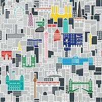 TFL London Skyline by Richard Coward