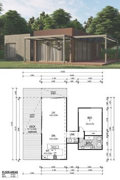 Moreton Architecturally Designed Tiny Kit Home - 72m2 | $40,425 AUD | Imagine Kit Homes™ #tinyhouse #tinyhome