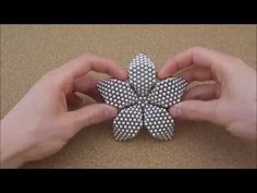 TUTORIAL Large Flower Dodecahedron (Zen Magnets) - YouTube