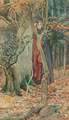 Pre Raphaelite influenced Art