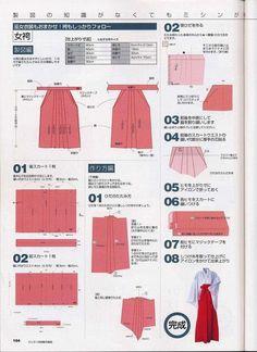 Shizuka-Cosplay: Tutorial : guantes y hakama ~~~ Hakama are ALWAYS a good… Costume Tutorial, Cosplay Tutorial, Cosplay Diy, Inuyasha Cosplay, How To Make Clothes, Diy Clothes, Foto Top, Japanese Costume, Kimono Pattern