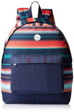 Roxy Womens Be Young Backpack Jagged Stripe GPF3