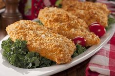 Southern Unfried Chicken   MrFood.com