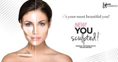 IT makes contouring easy! NEW You Sculpted! available now! #entry