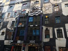 Hundertwasser House, Vienna, Austria Vienna Austria, Times Square, Architecture, House, Hundertwasser, Arquitetura, Home, Architecture Design, Homes