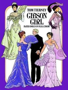 Gibson Girl Paper Dolls in Full Color Tierney, Tom 0486249808 | eBay