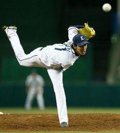 Takayuki Kishi fans 12 Swallows over 9 innings of work, allowing 2 runs on 6 hits and no walks in a no-decision at Seibu Dome on Saturday, June 1, 2013 in Tokorozawa, Saitama.