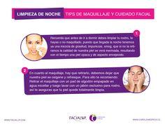 El cuidado de nuestra piel en el día y en la noche es sumamente importante, por eso consideren este tips de nuestra amiga de facial Up