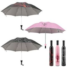 What a cool Idea for an umbrella! Looks like you are carrying a Pretty bottle of wine till it starts t rain - cool - Wine Bottle Umbrella - Choice of 3 Styles - $4.99. http://www.tanga.com/deals/3e2e52c9262a/wine-bottle-umbrella-choice-of-3-styles  Wine Bottle Umbrella - Choice of 3 Styles