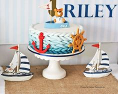 Nautical 1st Birthday party