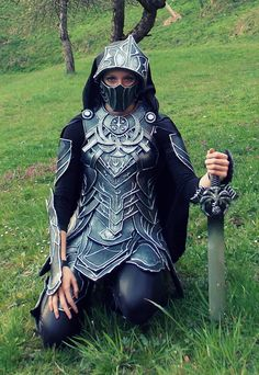 Skyrim: Nightingale Armor Cosplay by Cita555.deviantart.com on @deviantART