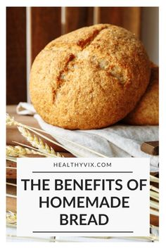The benefits of homemade bread Healthy Vix - Bread Maker Recipes, Easy Bread Recipes, Real Food Recipes, Vegan Recipes, Vegan Chilli Recipe, Baking Bread At Home, Sandwich Fillings, Turmeric Health Benefits, Superfood Powder