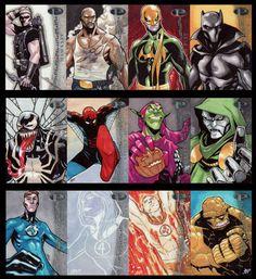 Upper Deck Marvel Premier Sketch Cards by Jose Jaro