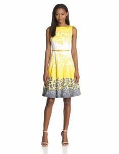 how to wear a fit and flare dress | women dresses wear to work image unavailable image not available