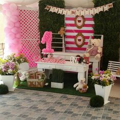 Party ideas baby girl