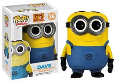 Pop! Movies: Despicable Me - Dave | Funko @tek4kids