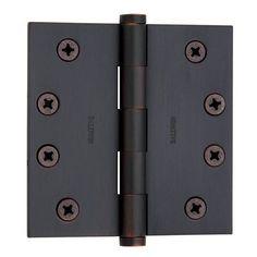Set Of 2 Stanley Hardware Bronze Interior Decor Curtain Brackets