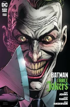 Joker Comic, Bat Joker, Joker Dc Comics, Joker Art, Dc Comics Art, Joker And Harley Quinn, Joker Batman, Three Jokers, Comics