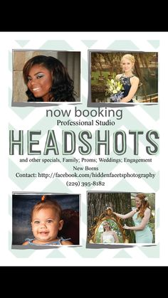 Ok high seniors. Book early for your seniors pics. Mention this post and Receive 20% off photo session. Call Hidden Facets Photography today.