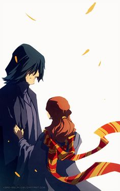 Severus Snape and Hermione Granger. Sweet picture but oh the feels! Harry Potter Fan Art, Harry Potter Food, Harry Potter Ships, Harry Potter Anime, Harry Potter Tattoos, Harry Potter Characters, Harry Potter Universal, Snape And Hermione, Harry Potter Severus Snape