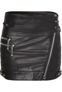 "PHILIPP PLEIN - Official Website | LEATHER SKIRT ""WISH"" 