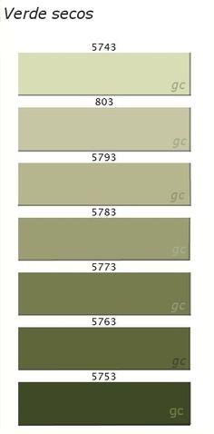 Carta de Color | Interiores3de - Decoracion de Interiores