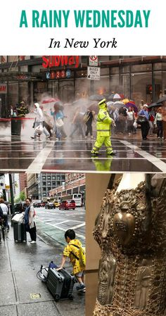 A Rainy Wednesday in New York | Last week my daughter and I spent a two night layover in the city on our way to London. New York gave us a rainy spring day, and we decided: perfect time for a little shopping, a visit to the Metropolitan Museum of Art, and some great food. #anncavittfisher #travel #travelblogger #NewYork