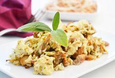 Die Gerösteten Schwammerl schmecken herrlich. Dieses Rezept eignet sich besonders für Eierschwammerl. Risotto, Potato Salad, Potatoes, Meat, Ethnic Recipes, Food, Drinks, Gourmet Cooking, Gourmet Foods