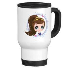 Blythe con estilo. Regalos, Gifts. Producto disponible en tienda Zazzle. Tazón, desayuno, té, café. Product available in Zazzle store. Bowl, breakfast, tea, coffee. #taza #mug