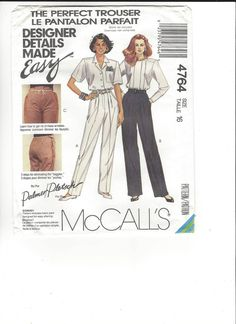 McCall's 4764 size 16 UNCUT by SewingasaHobby on Etsy