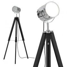 Image result for lamparas de pie tipo industrial, tripode