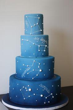 Was für eine Torte... für alle Fans von Space, vom Weltall und der Milchstraße