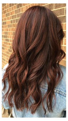 medium brown red hair color