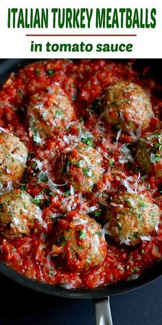 Italian Turkey Meatballs are a fantastic healthy dinner option. , Healthy Italian Turkey Meatballs are a fantastic healthy dinner option. , Healthy Italian Turkey Meatballs are a fantastic healthy dinner option. Italian Turkey Meatballs, Ground Turkey Meatballs, Turkey Mince, Crockpot Turkey Meatballs, Turkey Meatballs Gluten Free, Turkey Meatball Sauce, Healthy Dinner Options, Dinner Healthy, Recipes Dinner