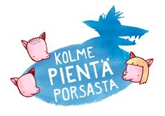 Kolme pientä porsasta | Papunet Daily Five, Pre School, Kids And Parenting, Fairy Tales, Fictional Characters, Fairytail, Adventure Movies, Fantasy Characters, Fairytale