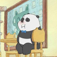 We Bare Bears Wallpapers, Panda Wallpapers, Cute Cartoon Wallpapers, Ice Bear We Bare Bears, We Bear, Cartoon Network, Panda Images, Cute Kawaii Animals, Hey Arnold