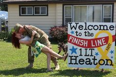 Welcome home after a year deployment!