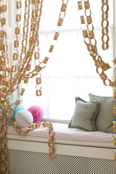 Paper chains! #talkingtables #inspirational